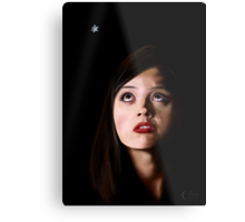 Clara's Tears...Missing the Doctor Metal Print