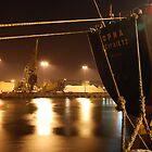 M.V. Orna Merchant Navy Vessel at Teesdock, Middlesbrough by hulldude30