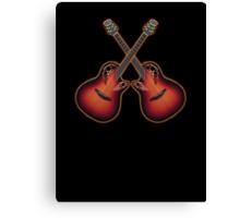 Double ovation acoustic guitar Canvas Print