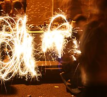 Sparklers by Helen Patmore