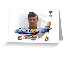Captain Clifford Jolley Greeting Card