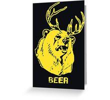 Always Sunny Bear T-shirt Greeting Card