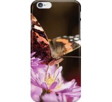 Autumn butterfly iPhone Case/Skin