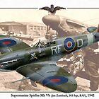 Supermarine Spitfire Mk Vb - Jan Zumbach by A. Hermann