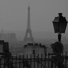 View over Paris by Phil Whiting