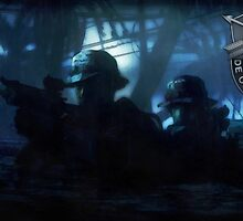 Special Forces Team by A. Hermann