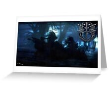 Special Forces Team Greeting Card