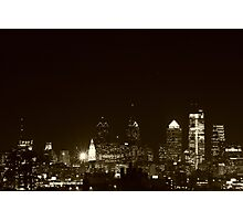 Philly at Night Photographic Print