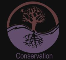 Conservation Tree Symbol Purple Brown by Ryan Houston
