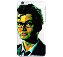The Doctor Is Tennant iPhone Case/Skin