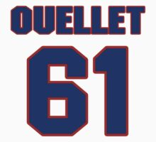 National Hockey player Xavier Ouellet jersey 61 by imsport