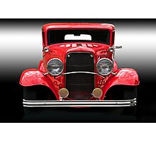 1932 Ford Sedan 'Head On' Photographic Print