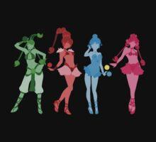 Amazoness Quartet by tofudelight