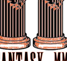 Giant (Final) Fantasy -- ON WHITE Sticker