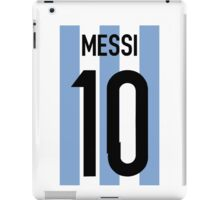 Lionel Messi -Argentina World Cup 2014  iPad Case/Skin