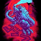 DAIKAIJU KING GOJIRA by beastpop
