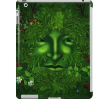 THE GREEN MAN iPad Case/Skin