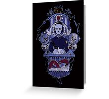 The Haunted Poet Greeting Card