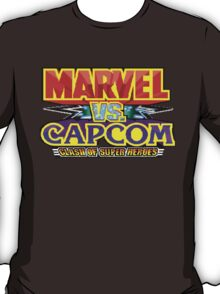 Marvel vs Capcom (Arcade) Title Screen T-Shirt