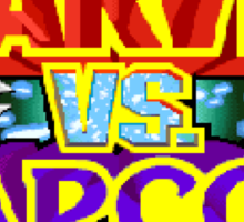 Marvel vs Capcom (Arcade) Title Screen Sticker