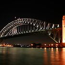 Harbour bridge, Sydney, Australia by Victoria Ashman