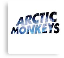 Arctic Monkey Glow Canvas Print