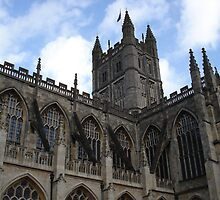 Bath Abbey II by Justine Humphries