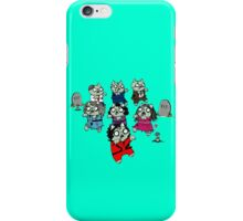 Zombie Thriller Cats iPhone Case/Skin