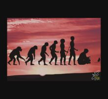 "Evolution on ""Pause"" by MooseMan"
