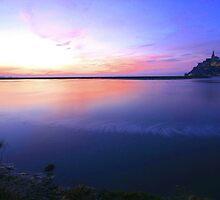 Mont St Michel by Ian Yates