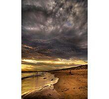 Evening Fishing Photographic Print