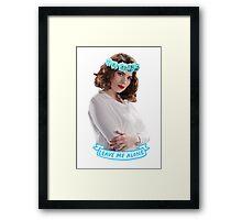 Peggy Framed Print