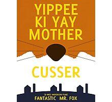 The Fantastic Mr. Fox - Minimalist Movie Poster Photographic Print