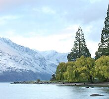 Queenstown Dawn by Clinton Barnes