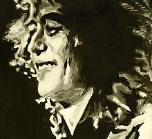 Jimmy Page. Rock Music Genius  by ArtspaceTF
