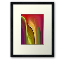 The Tall And The Short Of It Framed Print