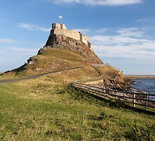 Lindisfarne Castle by Paul Morley