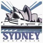 Opera House Sydney T-Shirt by MrCreator