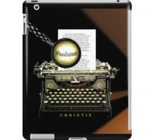 Agatha Christie knows Whodunnit! iPad Case/Skin