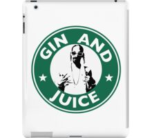 'Sipping on Gin and Juice' iPad Case/Skin