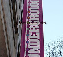 Underground Street Banner by kylehess10