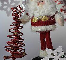 Santa And The Christmas Tree by ©Josephine Caruana