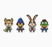 Star Fox Team Mini Pixels by geekmythology