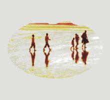 Beachwalkers by grimbomid