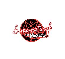 Supernatural The Musical (200th Episode) Print by ThoseFandomss