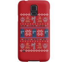Home for the Who-lidays Samsung Galaxy Case/Skin