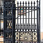 Wrought Iron Gate in New Orleans by Martha Sherman