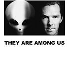 They Are Among Us - Benedict Cumberbatch is an Alien by Max DeLallo
