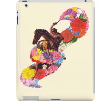 Flowers for a Badman iPad Case/Skin