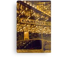 Casino Limo Metal Print
